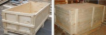 Жесткие деревянные ящики для транспортировки