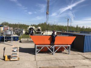 Хранение грузов на открытой площадке